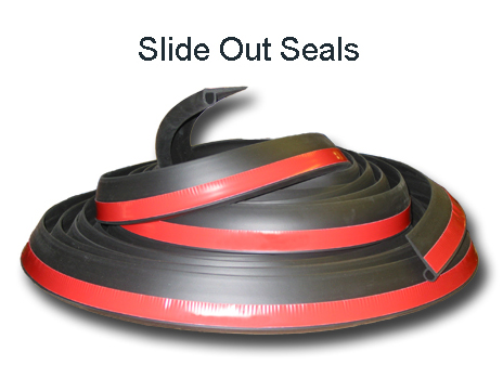 Slide out seal, rv seal, rubber seal